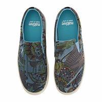 Native Shoes Miles 牛仔布印花 男鞋
