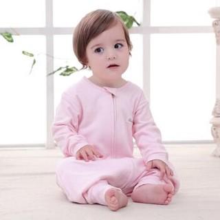 贝吻 婴儿卡通小象分腿睡袋 B3050 粉色 80码 *2件