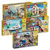 lego乐高积木拼装玩具女孩男孩子创意三合一街景房屋小颗粒 209元