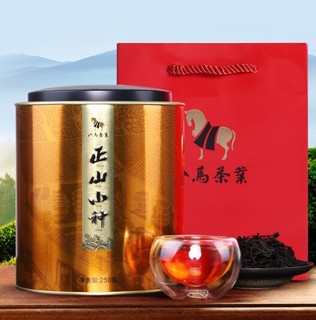 八马茶业 武夷山 正山小种红茶 礼罐装 250g