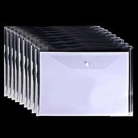 LIYO 立优   透明A4文件袋 10个装