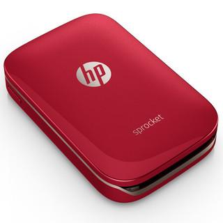 HP 惠普 小印 Sprocket SNPRH-1603 热升华照片打印机 (红色)