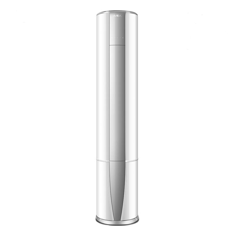 Haier 海尔 KFR-72LW/07AHBP-1U1 立柜式空调 (银色、3匹、变频)