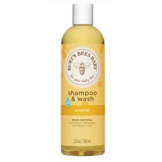 BURT'S BEES 小蜜蜂 婴儿二合一洗发沐浴露 350ml