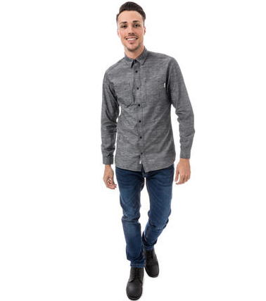 JACK JONES Long Sleeve Mode 男士衬衫