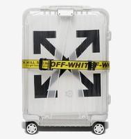 OFF-WHITE X RIMOWA  See Throug 透明拉杆箱
