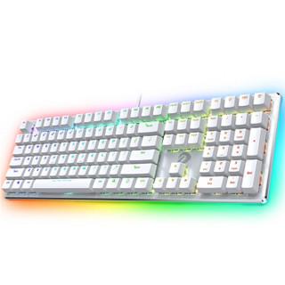 Dareu 达尔优 EK925 幻彩键盘 (108键、白色、红轴)