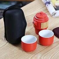kavar 米良品  日式便携功夫茶具套装
