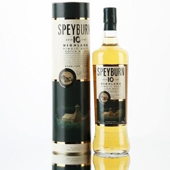 Speyburn 圣贝本 10年 苏格兰威士忌 单一麦芽 40度 700ml