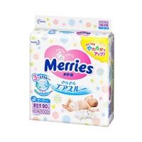88VIP:Merries 妙而舒 婴儿纸尿裤 NB90片 *4件