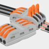 家用电线连接器(常规三插线32A大电流) 3进3出  紫铜 20只 32.6元包邮(需用券)