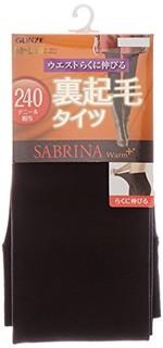 中亚prime会员 : GUNZE SABRINA Warm+系列 女士240D加绒加厚打底袜