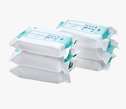 苏宁极物 轻巧便携装湿巾 6连包
