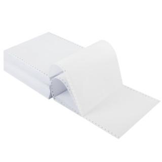 deli 得力 S241-1-1/2 deli 得力 珊瑚海 S241-1-1/2 单层二等分 白色电脑打印纸 100页 (1000页/箱、打印纸、70g以下、A4)