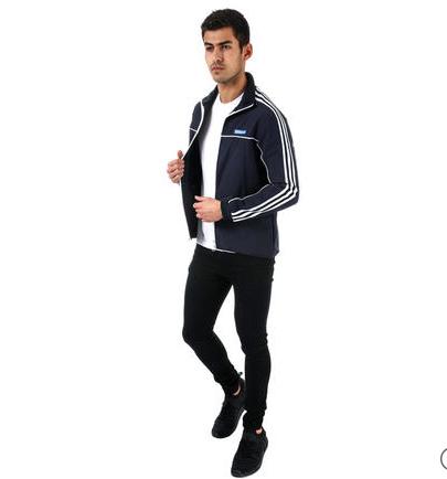 adidas Originals 男士立领运动夹克