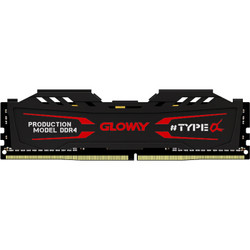 GLOWAY 光威 TYPE-α系列 石墨灰 DDR4 2666MHz 台式机内存 16GB