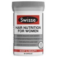 Swisse 女性头发生长营养胶囊 (强健发质 防止脱发)60粒