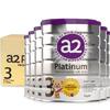 a2 艾尔 Platinum 白金版 婴幼儿奶粉 3段 900g 6罐 1187元