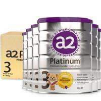 A2 白金版婴儿配方奶粉 3段 900g *6罐