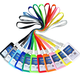lxmetal ABS塑料证件套 带绳 11色可选