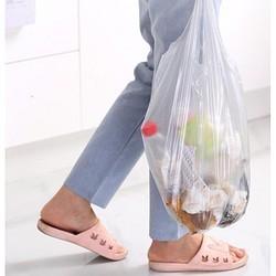 汉世刘家 家用手提垃圾袋 5卷 45*63cm*100只