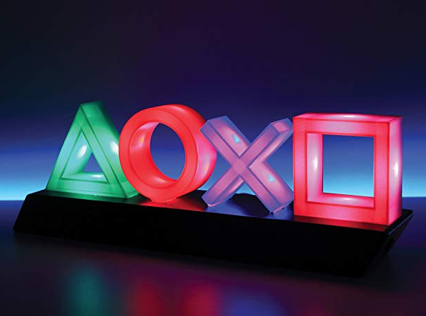 Playstation手柄按键图标夜灯