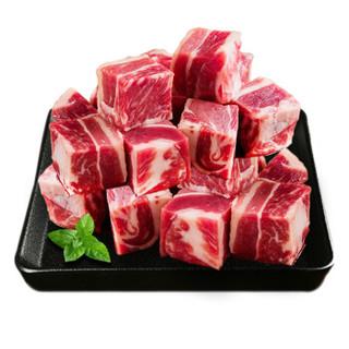 上海福利 : 大牧汗 巴西精品牛腩块 4斤装*2件 +黑椒鸡排堡 120g*2件