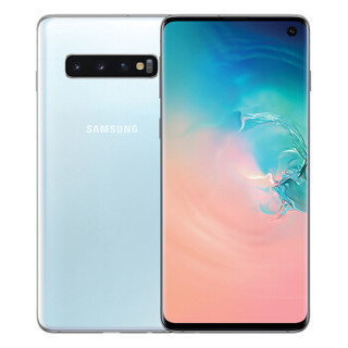 三星 Galaxy S10 8GB 128GB皓玉白(SM-G9730)超感官全视屏骁龙855双卡双待全网通4G游戏手机