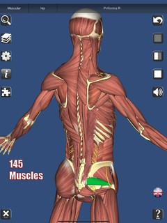 《3D Anatomy》iOS人体猎奇教育类App