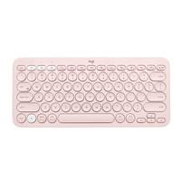 Logitech 罗技 K380 多设备蓝牙键盘 茱萸粉