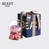 THE BEAST/野兽派 音乐水晶球永生花(爱你呦)