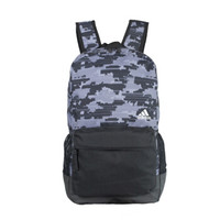 阿迪达斯(Adidas)男女款休闲运动双肩背包 CD9683 五度灰色