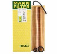 MANNFILTER 曼牌 机油滤清器HU514x(奔驰C180/C200/E200/CLK200/SLK200)(亚马逊自营商品, 由供应商配送)