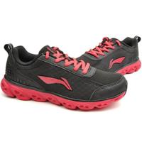 李宁 女式 弧五代Element透气减震耐磨跑步鞋ARHK054-3