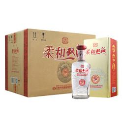双沟 柔和双沟银 42度 整箱装白酒 450ml*6瓶(内含3个礼袋) +凑单品