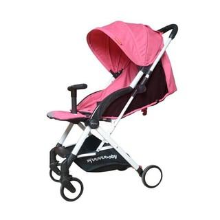 YUYU 悠悠 鸿羽款 超轻便折叠婴儿推车 枚红色