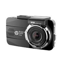 惠普f860 迷你行车记录仪高清夜视前后双镜头汽车停车监控1080p