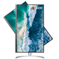 LG 27UL550 27英寸IPS显示器(4K、98%sRGB、HDR10、FreeSync)
