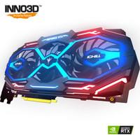 Inno 3D 映众 GeForce RTX 2080 冰龙超级版 8GB GDDR6 PCI-E独立显卡