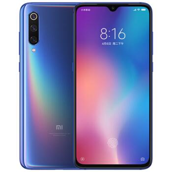 MI 小米 9 智能手机 6GB+128GB 全息幻彩蓝 骁龙855 全网通4G