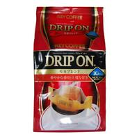 日本原装进口keycoffee滤挂式咖啡粉(摩卡综合)挂耳咖啡80g(8g×10袋)