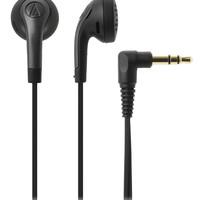 audio-technica 铁三角 ATH-C777 耳机 (通用、动圈、耳塞式、黑色)