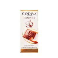 GODIVA 歌帝梵 焦糖味牛奶巧克力片排块 86g