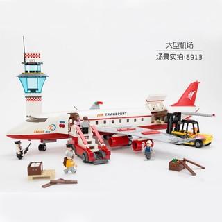 GUDI 古迪 积木 8913 大型客机