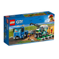 LEGO 乐高  City 城市系列 60223 收割机运输车