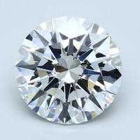 Blue Nile 10.25克拉圆形切割钻石(成色E,切割EX,净度FL)