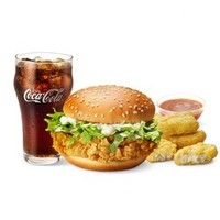 McDonald's 麦当劳 麦辣鸡腿套餐 电子券码 10次券