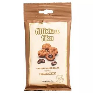 瑞典进口 菲丽嘟 fika 松露形烘焙咖啡豆夹心巧克力 纯可可脂巧克力45g