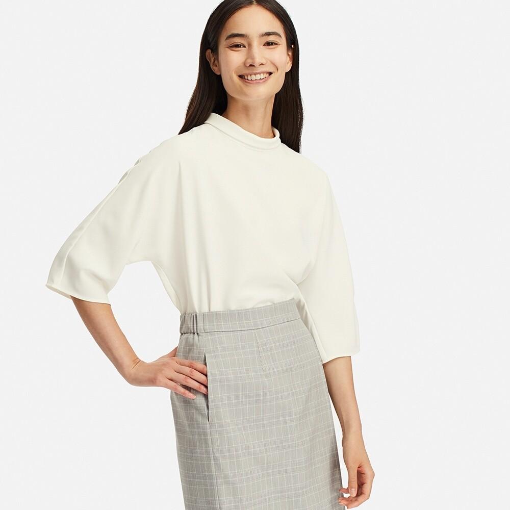 UNIQLO 优衣库 414144 女士七分袖针织衫