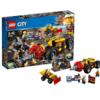 LEGO乐高 City城市系列 60186 重型采矿钻孔机